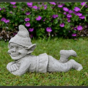 Jolly Pixie garden ornament statue