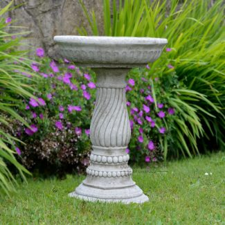 Twist Bird Bath