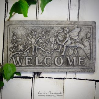 fairy welcome sign