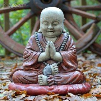 Tibetan Monk Statue