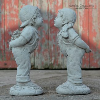 jack and jill garden ornament