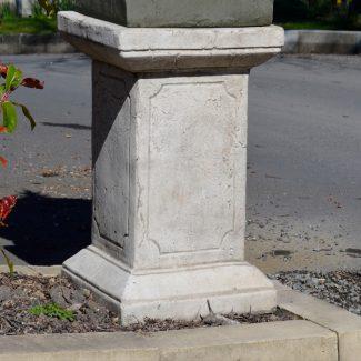 large square plinth