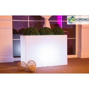 Large Decorative LED Planter