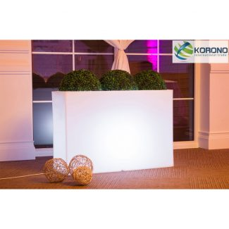 Large Decorative LED Planter