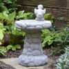 Pebble Bird Bath Garden Ornament