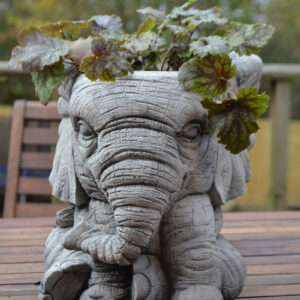Elephant Pot Planter Garden Ornament