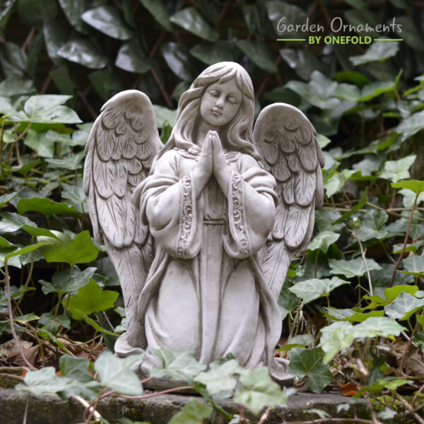 Praying Angel Stone Statue