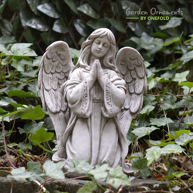 Praying Angel Stone Statue 1