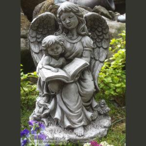 Guardian Angel Statue Grave Memorial