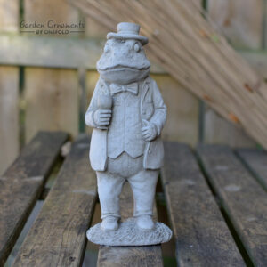 Mr Jeremy Fisher Beatrix Potter Frog Statue