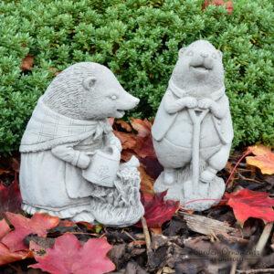 Mrs Tiggy-Winkle Garden Statue Set of 2 Beatrix Potter