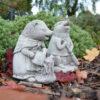 Beatrix Potter Stone Statue Set Mrs Tiggy-Winkle