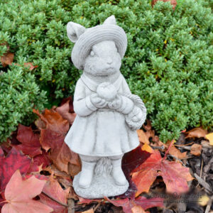 Mrs Rabbit Stone Garden Statue Beatrix Potter