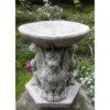 Gargoyle Bird Bath Cast Stone Garden Ornament