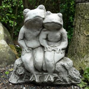 Bud Frog Garden Ornament