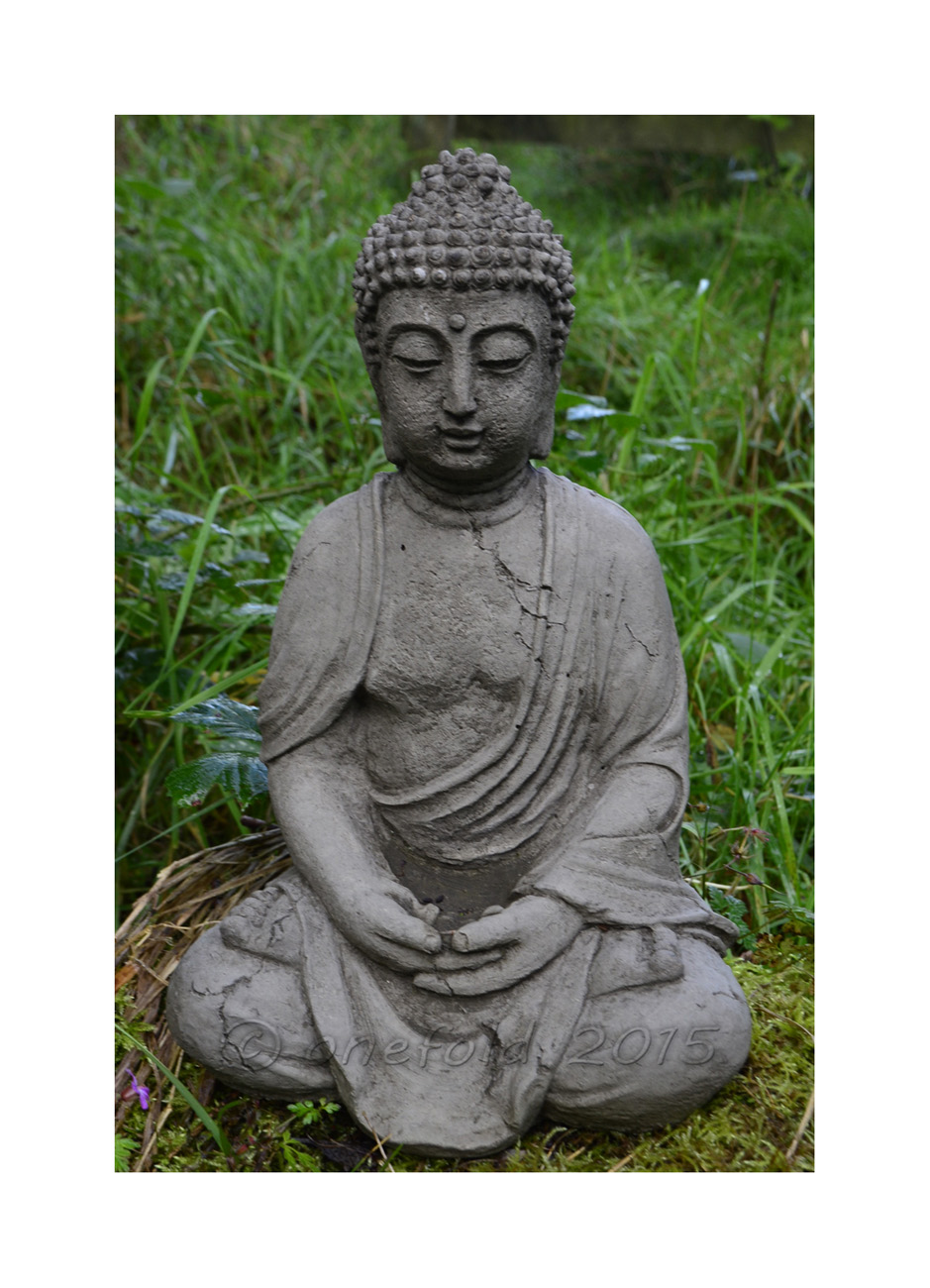 Antique Buddha Statue – small 1