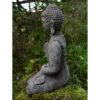 Meditating Welsh Buddha Statue
