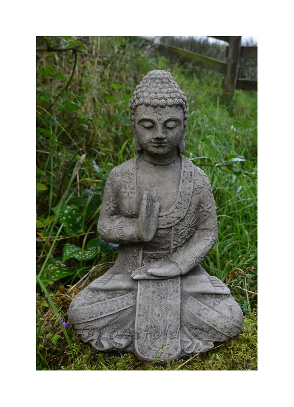 Meditating Welsh Buddha Statue 1