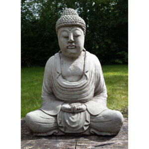Buddha Garden Statue - Meditating Medium