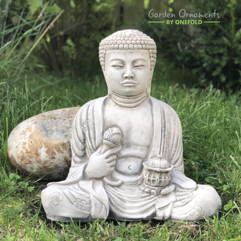 Buddha Garden Statue Zen Lantern 1