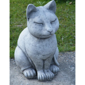 Smooth Cat Garden Ornament