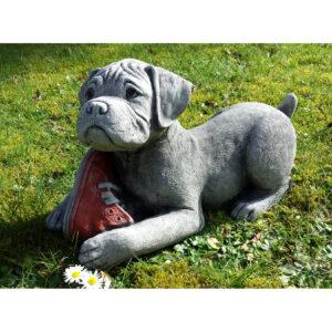Boxer Puppy Garden Ornament