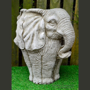 Large Elephant Pot Stone Planter Garden Ornament