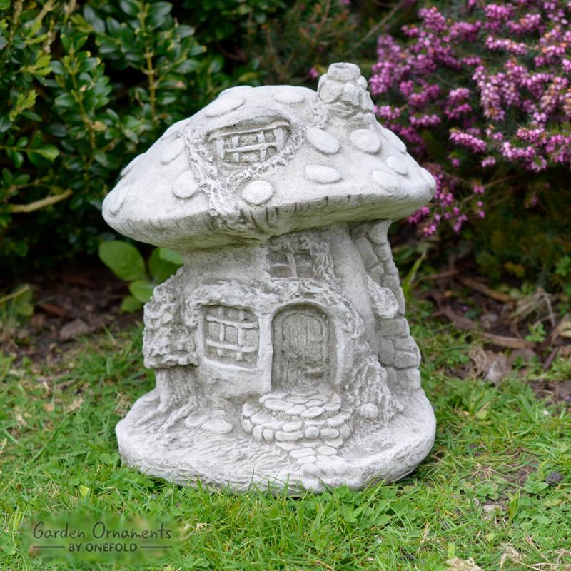 Fairy Mushroom House Garden Ornament 1