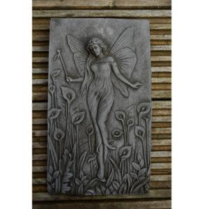 Water Nymph Stone Garden Plaque Fairy