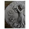 Stone Garden Plaque - Welcome Sign Fairy