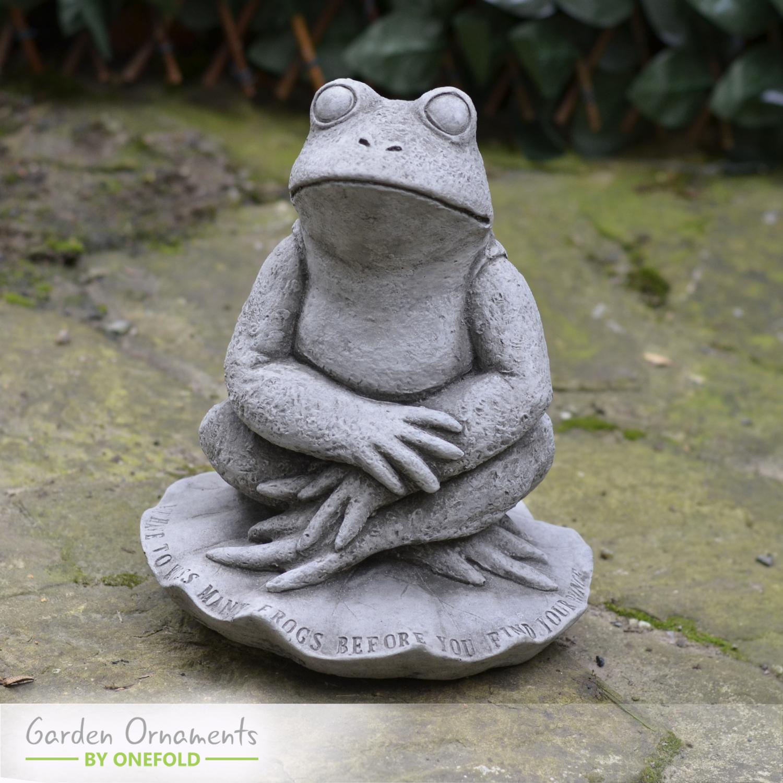 Prince Charming Frog Garden Statue 1