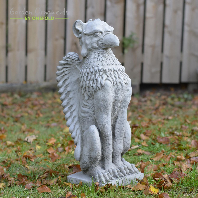 Griffin Garden Statue Ornament 1