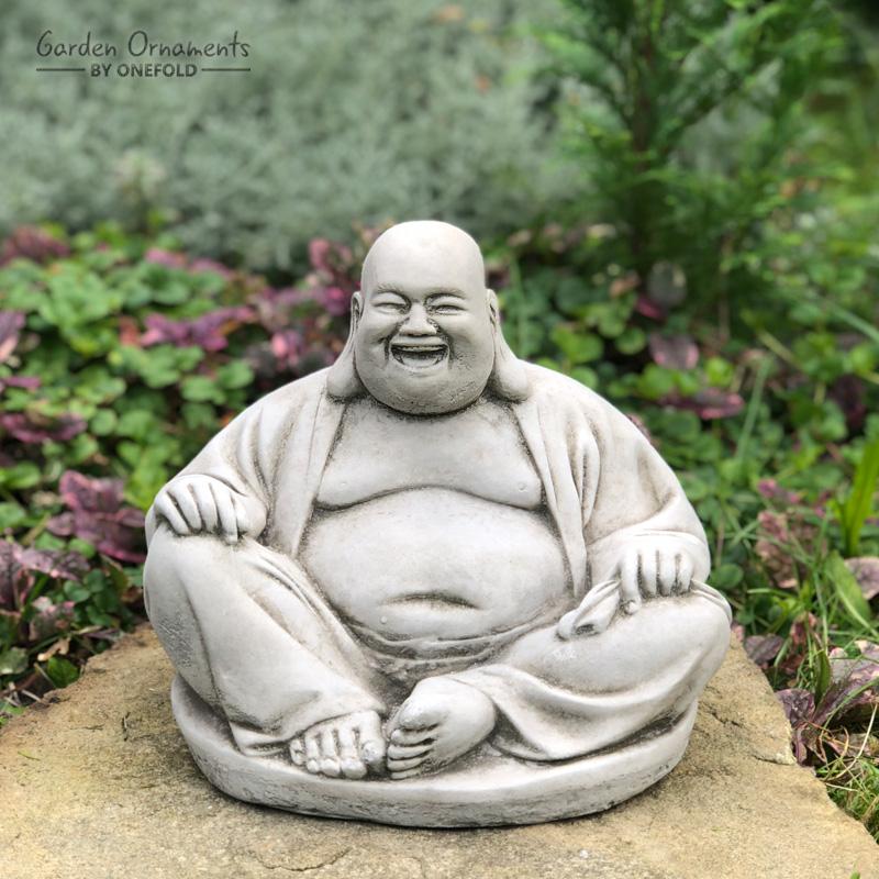 Laughing Buddha Garden Statue Onefold Ltd, Buddha Garden Statues