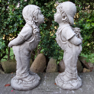 Jack and Jill Garden Statue Large