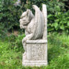 King Gargoyle Garden Ornament Statue