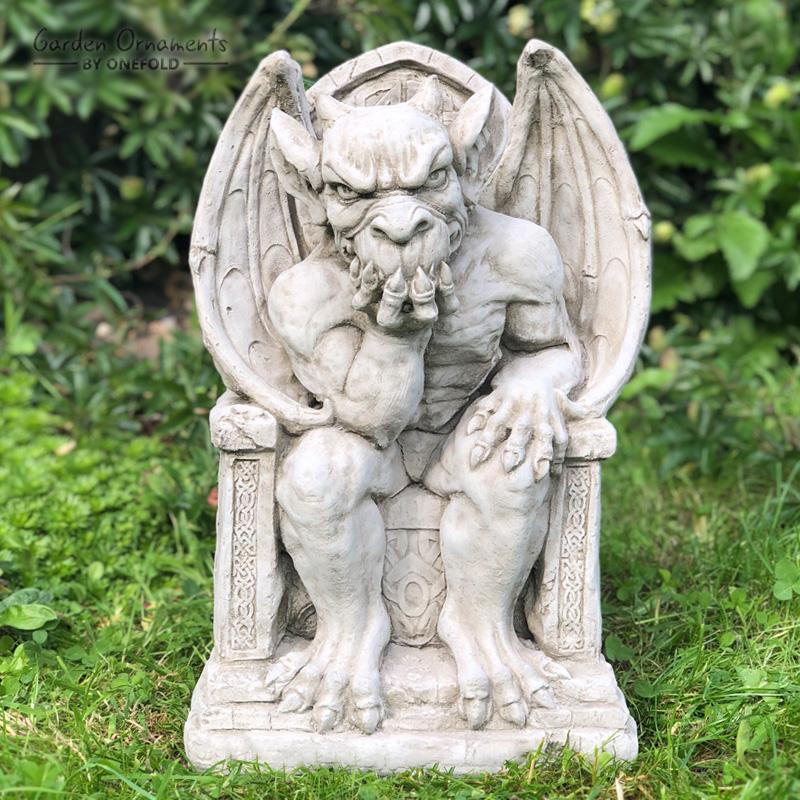 King Gargoyle Garden Ornament Statue 1