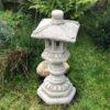 Pagoda Stone Garden Ornament: Large
