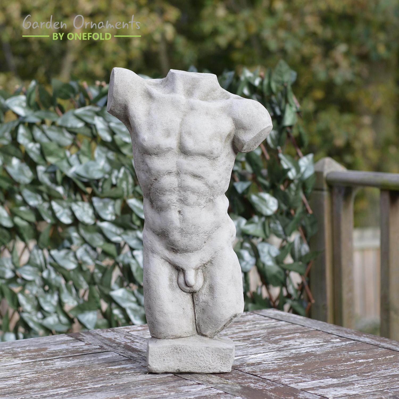 Torso of Apollo Stone Sculpture 1