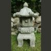 Large Japanese Pagoda Lantern Garden Ornament