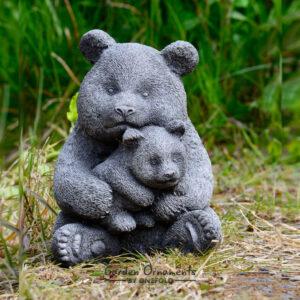 Panda Garden Ornament Hand Cast Stone