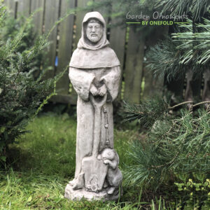 St. Francis Stone Garden Ornament