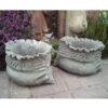 Stone Sack Pot Planter