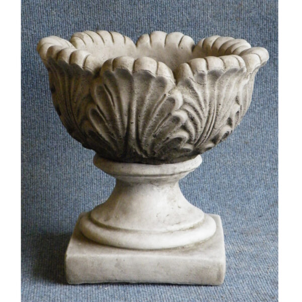 Stone Tulip Planter Vase - small