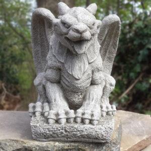 Stone Wing Gargoyle Garden Ornament