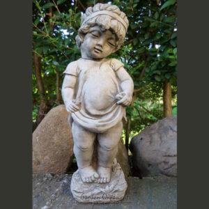 Victorian Shy Girl Garden Statue