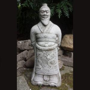 Warrior Zhan Shi Garden Statue
