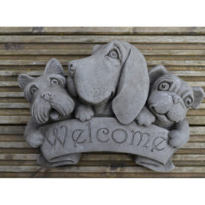 Welcome Dog Wall Plaque25