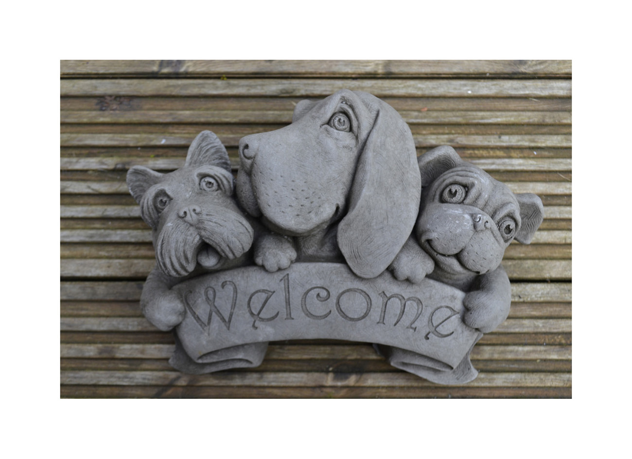 Welcome Dog Wall Plaque25 1