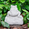 Small Welcome Frog Garden Ornament Statue