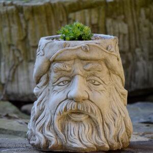 Wizard Flower Pot Garden Ornament